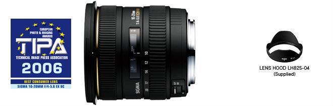 Фото Sigma 10-20mm F4-5.6 EX DC HSM купить в Минске