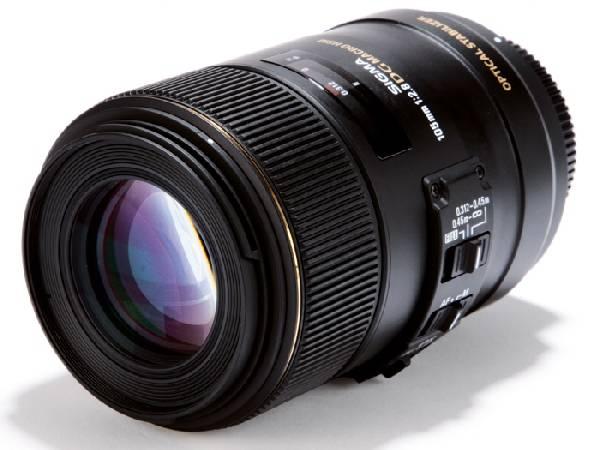 Sigma MACRO 105mm F2.8 EX DG OS HSM
