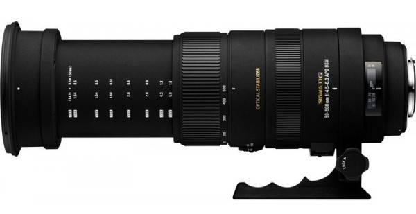 Фото Sigma APO 50-500mm F4.5-6.3 DG OS HSM