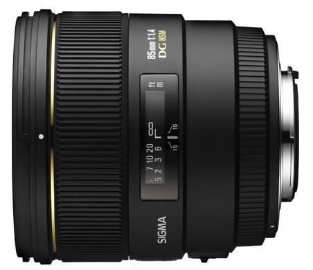 Фото Sigma 85mm F1.4 EX DG HSM