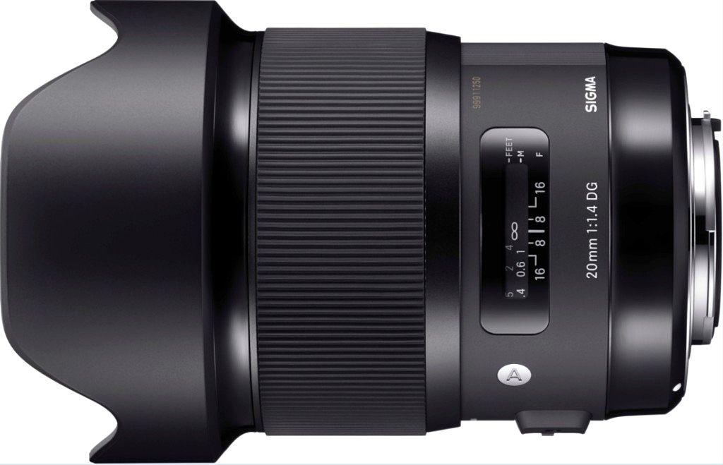SIGMA 20mm F1.4 DG HSM Art  фото