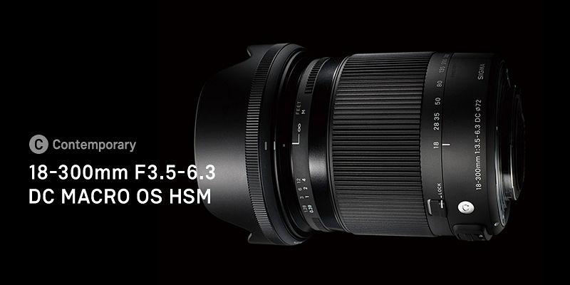 SIGMA 18-300mm F3.5-6.3 DC HSM MACRO OS Contemporary фото объектива